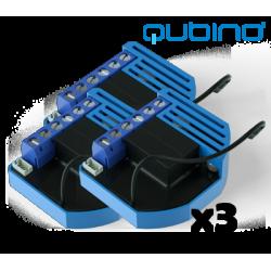 3xQubino Flush Shutter Pack