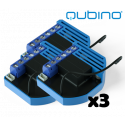 Pack 3xQubino Flush Shutter
