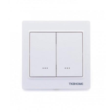 Interruptor empotrable sencillo de TKB Home