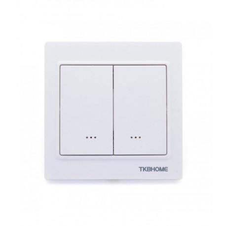 Interruptor empotrable de doble tecla de TKB Home