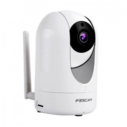 Foscam R4 4,0Mpx 110º Night vision color White, motorized, interior, Slot Micro SD up to 128G, motion detection,