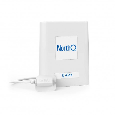 NorthQ medidor Z-Wave de consumo de gas para contadores de Gas