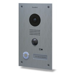 DOORBIRD D202 - WIFI IP video intercom connected to the internet built-in INOX finish