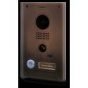 DOORBIRD D202BB - Videoportero WIFI IP conectado a internet empotrable acabado bronce