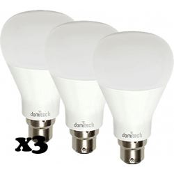 Pack de 3 bombillas LED DOMITECH ZBulb dimeable Z-Wave+