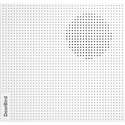 Doorbird IP A1061W Timbre Inteligente para puerta