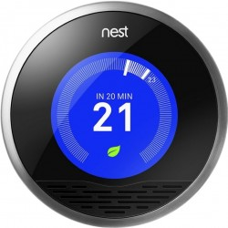 Nest Learning Thermostat - Termostato wifi inteligente de 3ª generación