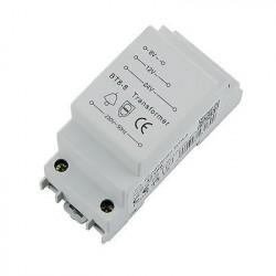 """Trasnformador """"trafo"""" para carril DIN de 8V, 12V y 24V AC hasta 8VA"""