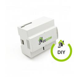Jeedom Kit DIY controlador domótico Z-Wave+ para CARRIL DIN