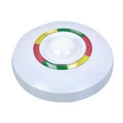 Detector inalámbrico de techo ( 270 º ) Doble tecnología ( PIR + Microondas )