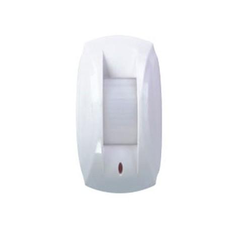 Detector de movimiento tipo cortina vía radio con doble PIR