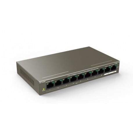 IP-COM F1110P-8-102W switch 8 puertos PoE no gestionable formato desktop
