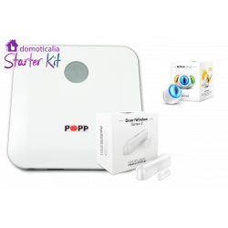 POPP Starter Kit Z-Wave para Alarma Anti-intrusión