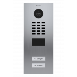 DoorBird D2102V Videoportero IP empotrable 2 viviendas