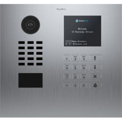 DoorBird D21DKH Multi-usuário embutido recesso vídeo porteiro IP