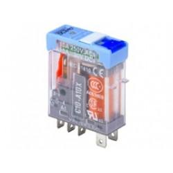 Mini Rele Releco C12 24V AC 5A 2 Ctos.