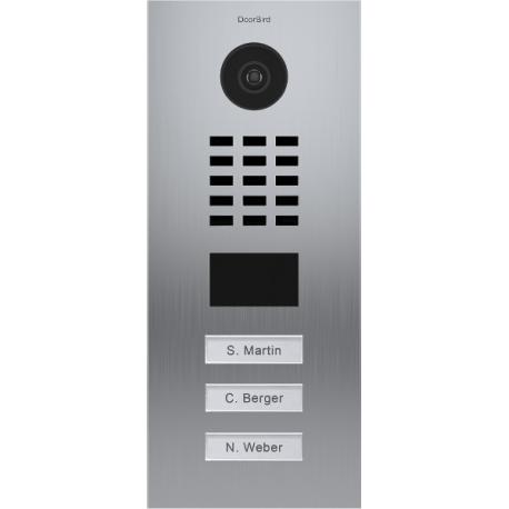 DoorBird D2102V Videoportero IP empotrable