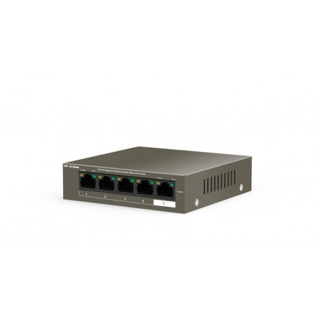 IP-COM G1005P switch PoE gigabit de 4+1 bocas