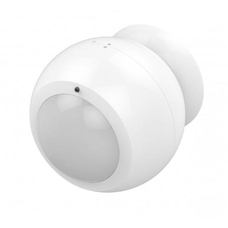 Philio Sensor de movimiento para exterior con soporte magnético y visera de lente IR