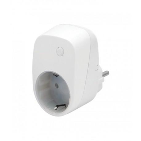 """ZIPATO - Enchufe """"schuko"""" on-off con medición de consumo eléctrico Z-Wave Plus"""