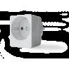 Qubino Smart Plug 16A - Enchufe Z-Wave Plus on-off de pequeño tamaño