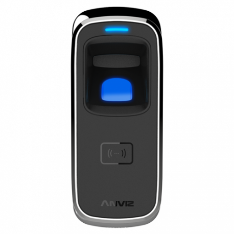 Control de presencia con lector biométrico de huella dactilar
