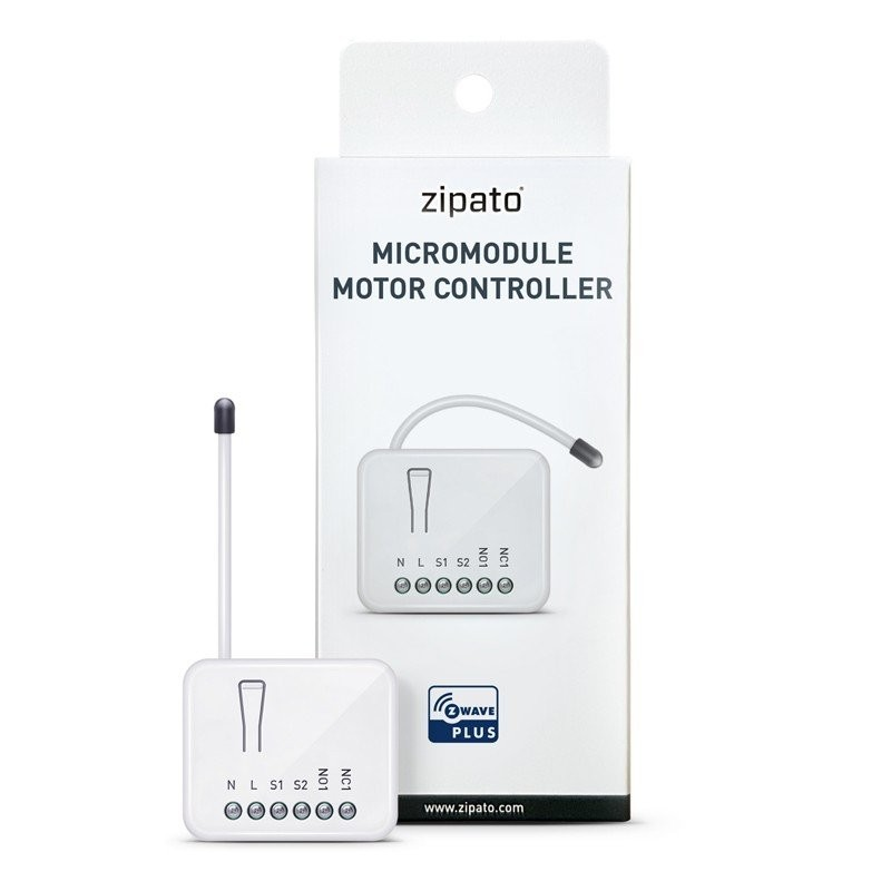 Zipato Micromodule Z Wave Plus Motor Controller