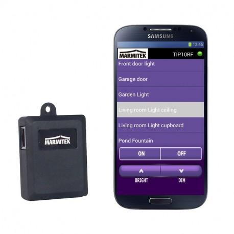 Pasarela IP Marmitek TIP10RF para control remoto x10