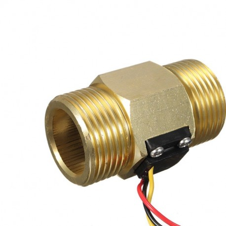 Medidor de vazão GreenIQ para tubos de 1 polegada