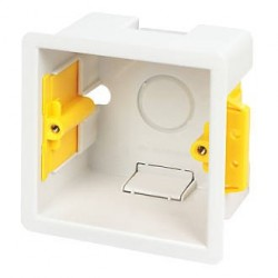 NETBACKBOX-DL Caja de mecanismo para pared/superficie 86x86x32mm