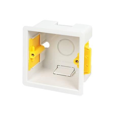 NET-BACKBOX Caja de mecanismo para pared/superficie 86x86x32mm