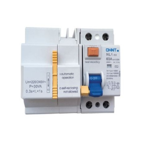 Diferencial Rearmable Chint RELC-NL1 2P 40A 30mA
