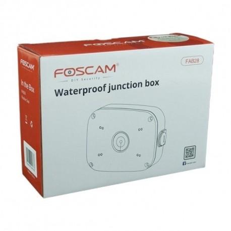 Foscam CAJA FAB28 Estanca- Blanca para cámaras FI9828P, FI9928P y FI9828W
