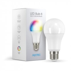 AEOTEC Bombilla LED 6 Multi-Color (E27)
