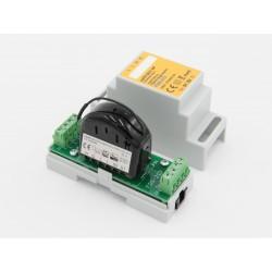 Eutonomy - Adaptador para trilho DIN euFIX S213NP