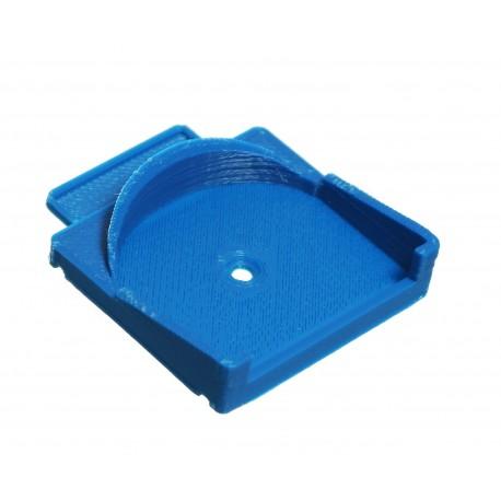 Placa de montaje en Carril DIN para 1x Micromódulo Fibaro
