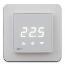Heatit ZTRM2fx Z-Wave thermostat for electrical floor heating