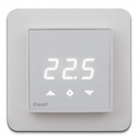 Heat-it ZTRM2fx Z-Wave thermostat for electrical floor heating
