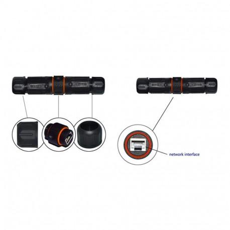 Airlive FE501DM cámara IP para techo 2/5 Mpixel, POE y Ojo de PEZ (Visión Panorámica 360°)