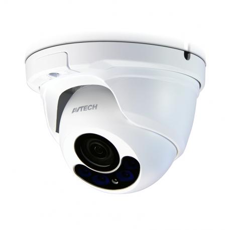 AVTECH DGM1304QS cámara IP MJPEG / ONVIF 2 MP PoE Lente varifocal motorizada interior/exterior
