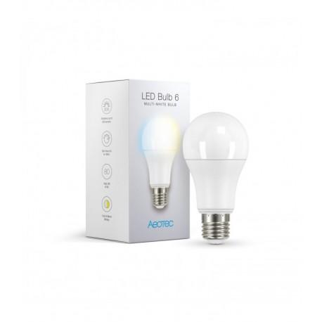AEOTEC Bombilla LED 6 Multi-Blanco (E27)
