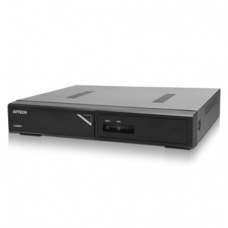 AVTECH DGH1109 NVR 8CH + PoE Solution