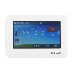 TKB Home Touchpanel Z-Wave Plus touch thermostat