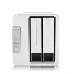 TerraMaster F2-210 NAS de 2 bahías con procesador Realtek 1,4 GHz (sin Discos)
