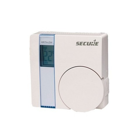 Wall thermostat with Secure LCD screen
