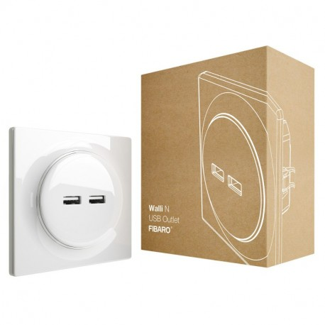 FIBARO - Walli N USB Outlet
