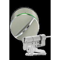 Pack Cerradura domotica DANALOCK V3 (BT y Homekit) + Cilindro GERDA - Cerradura y cilindro en un lote