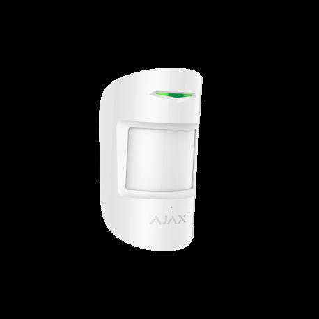 AJAX CombiProtect - Detector PIR anti-mascotas y rotura de cristales