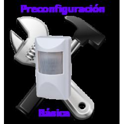 Preconfiguración Básica de alarma