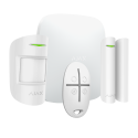 AJAX StarterKit Plus - Kit de alarma profesional Comunicación Wi-Fi, 3G Dual SIM y Ethernet
